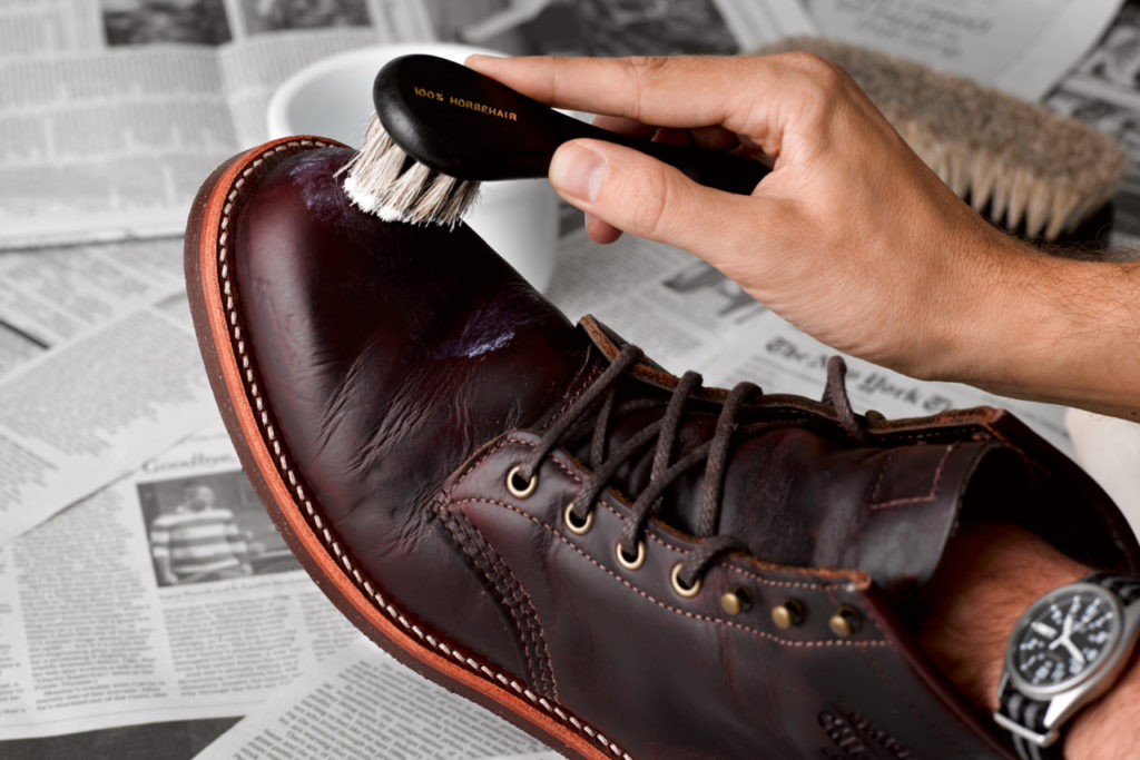 Proper Leather Shoe Care