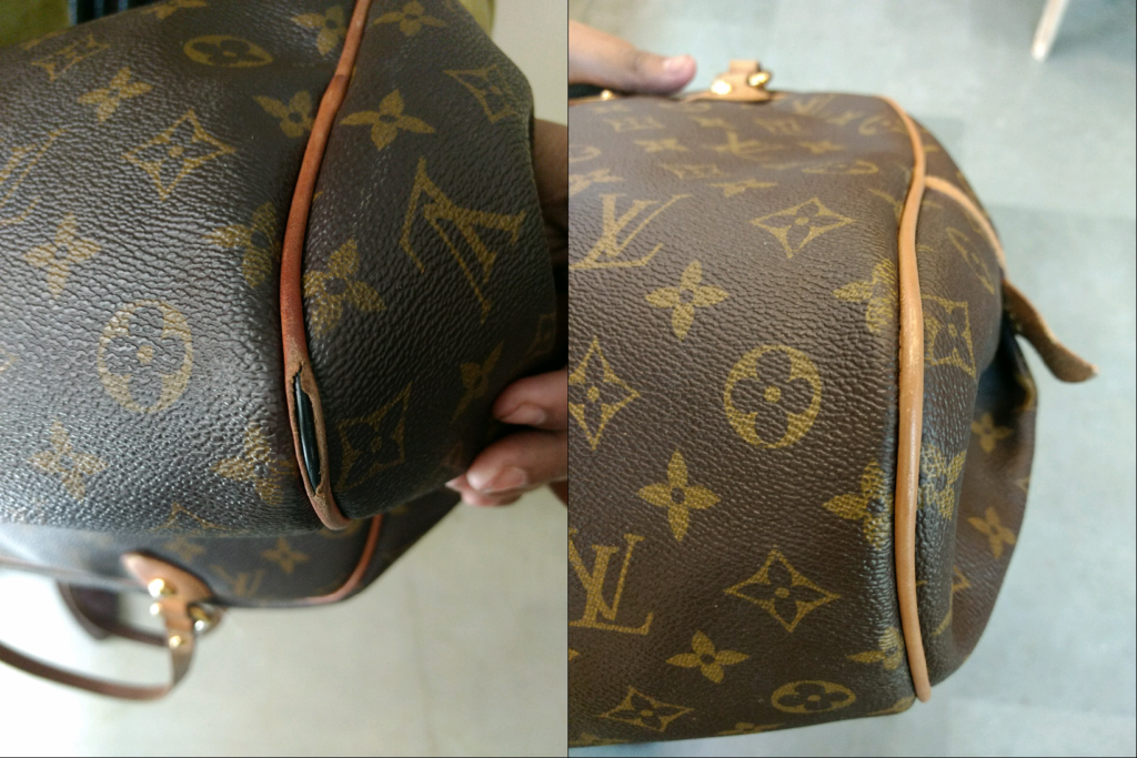 Louis Vuitton Handbag Piping Repair