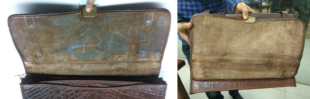 Leather Bag Cleaning Repair