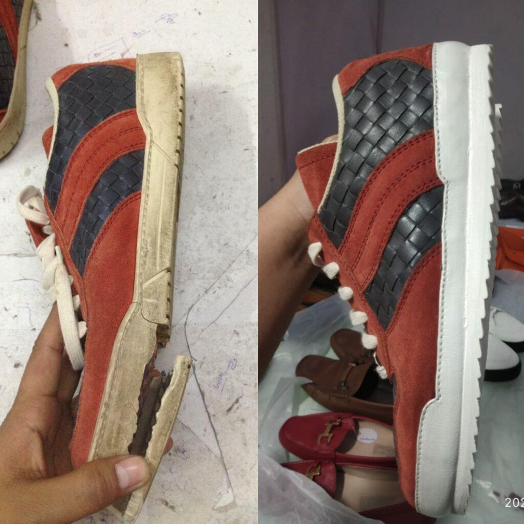 bottega sneaker repair