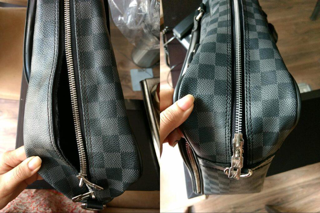 how to fix a zipper on a bag